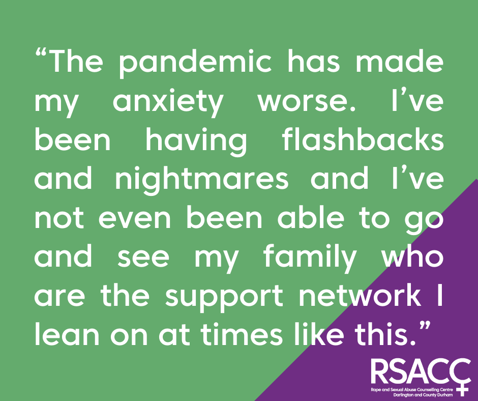 How has RSACC supported survivors during the pandemic?