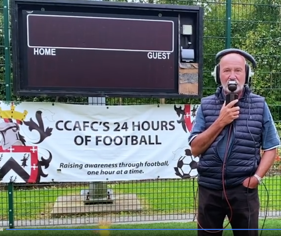CCAFC, biggest amateur football club in the UK, is raising funds for Darlington and Co. Durham's Rape & Sexual Abuse Counselling Centre